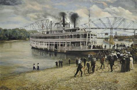 steamboat art stunning quot paddlewheeler quot artwork for sale on fine art prints