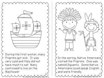 why do we celebrate thanksgiving printable book and