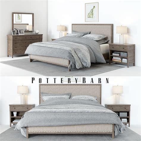 Pottery Barn / Toulouse Bedroom set & Accessoires