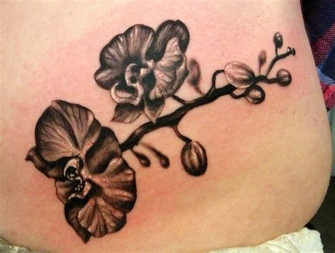 black orchid tattoo black and white orchid tattoos www imgkid the