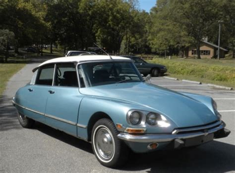 Citroen Ds21 For Sale by Blue Frog 1970 Citroen Ds21 Pallas Bring A Trailer