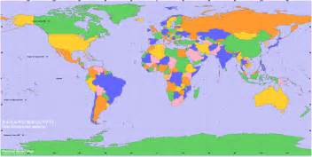 Countries World Map by World Maps With Countries For Kids Images