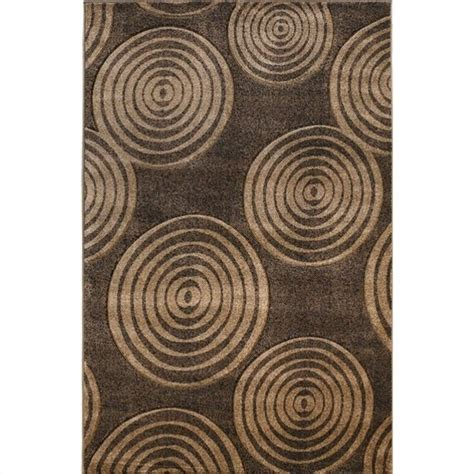 Rugs Circle Rectangular Area Rug In Brown And Beige Rug Brown And Beige Area Rug