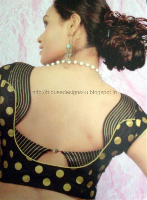 design pattern blouse back neck saree blouse desgins 2014 blouse designs