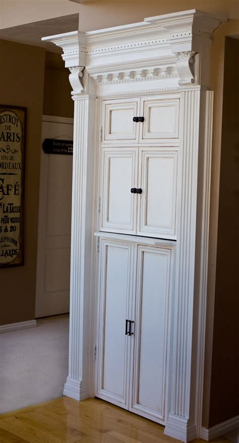 door makeover be different act normal faux cabinetry pantry door makeover