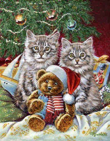 A C C E P T Claus Sandals White 3631 best images about cat illustration painting