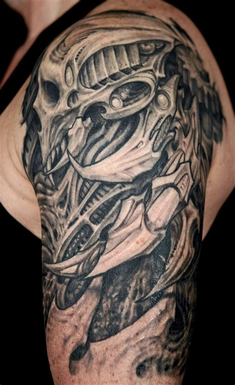 biomech tattoo 25 amazing biomechanical tattoos design design