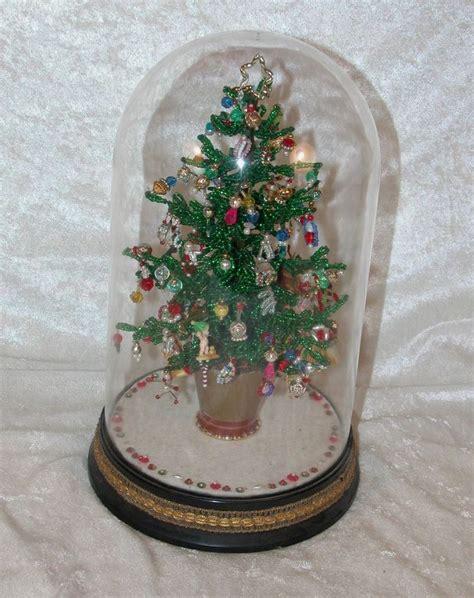 vintage 11 quot westrim beaded christmas tree finished under