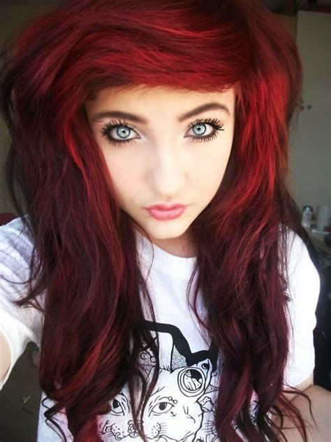 emo hairstyles for redheads 328 best characters girls red hair images on pinterest