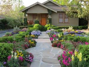 outdoor front door flowers with landscape ideas front