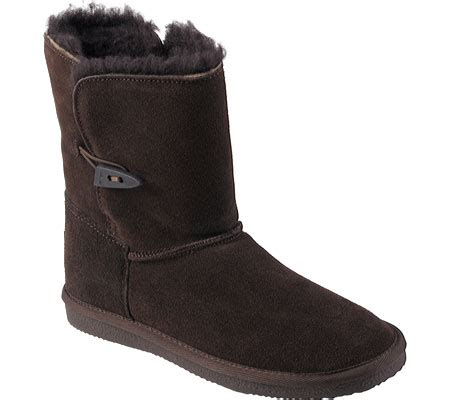 pawz boots womens pawz by bearpaw shearling lined suede leather boot