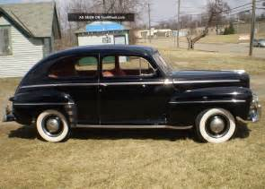 1947 ford deluxe 2 door sedan rod rat rod custom