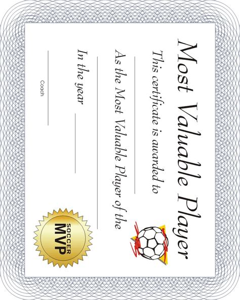 editable soccer award certificates instant download