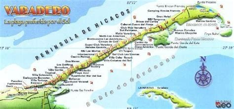 printable map varadero varadero map random school stuff pinterest maps and