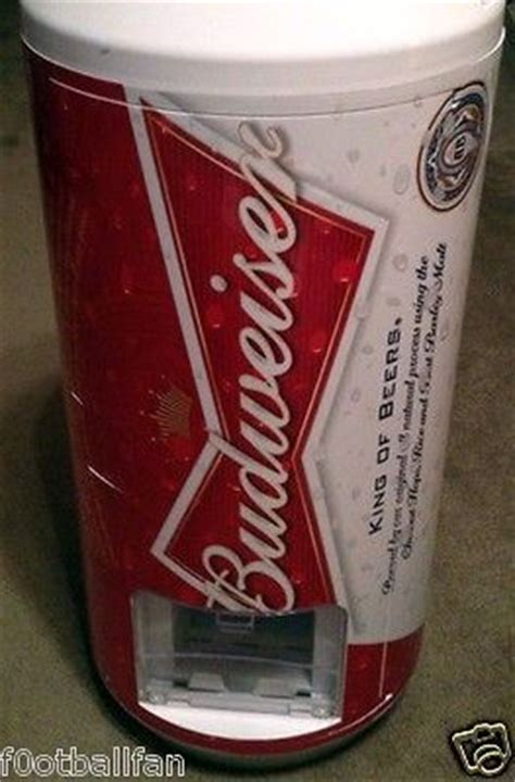 bud light mini keg budweiser vending fridge refrigerator cooler bud light bar