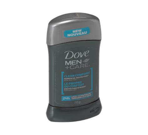 dove men care clean comfort ingredients antiperspirant 76 g clean comfort dove men care