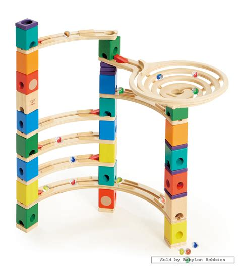 Which Hape Marble Run Quadrilla - marble run quadrilla xcellerator by hape toys e6007