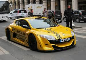 Renault Megane V6 The Fastest Taxi In Renault Megane Trophy V6