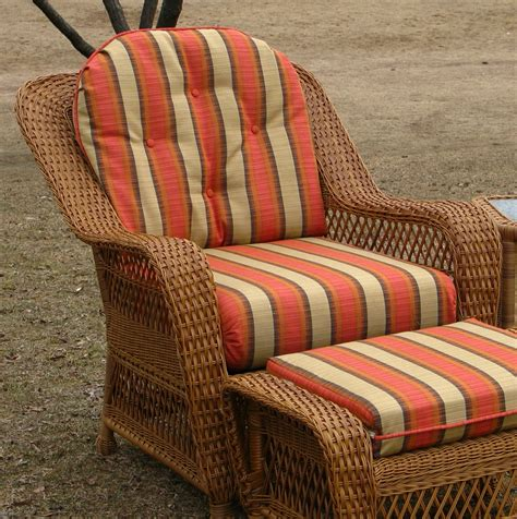 wicker bench cushions collection of replacement cushions outdoor fur chair pads