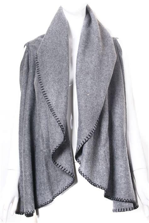 wool vest poncho scarf scarves