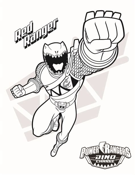 power rangers birthday coloring pages red ranger download them all http www powerrangers com