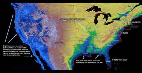 tectonic plates map usa possible water levels in usa during and after