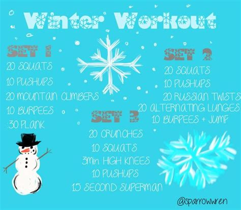 8 winter workouts to stay fit this season