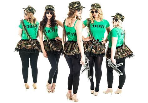 themed hen party ideas army hen night theme last night of freedom