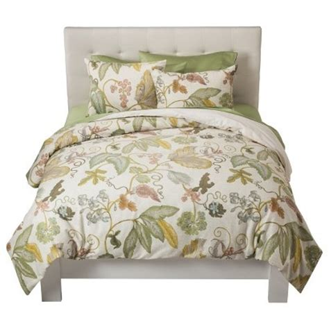 target threshold comforter i would get new bedding if i went with yellow and green