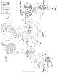 scag sw36a 14ka s n 6140001 6149999 parts diagram for engine deck