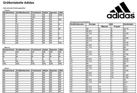 chart layout en español adidas kinderschuhe gr 246 223 entabelle adidas onlineshop rote