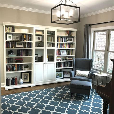 ikea hemnes libreria ikea liatorp bookcase modern office study in 2019 ikea