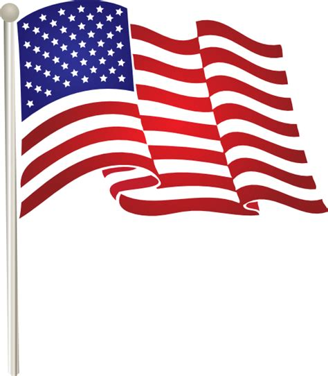 american flag clipart united states waving flag clip at clker vector