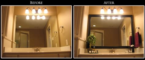 framing mirror in bathroom framing bathroom mirror ideas decor ideasdecor ideas