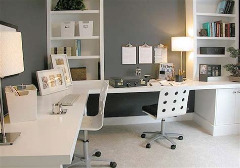 two person office layout home office