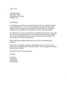 College Baseball Letter Of Interest Sle Cover Letter For Coach Resume Format