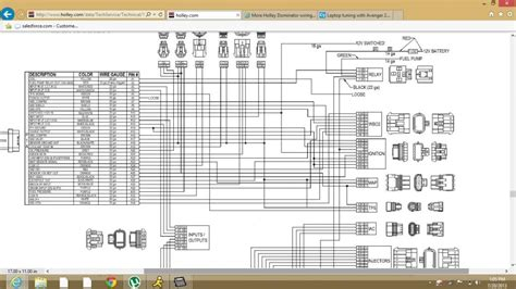holley dominator wiring diagram 31 wiring diagram images