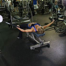 flat bench flye flat bench cable flyes exercise guide and video
