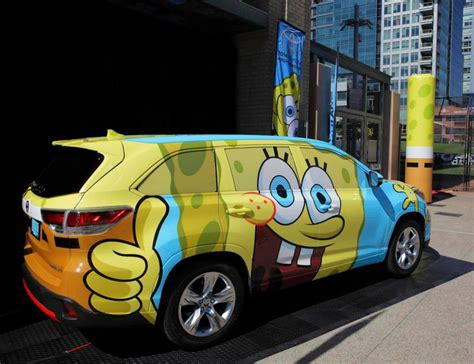 Bob Toyota Used Cars Spongebob Toyota Highlander Revealed Autoevolution