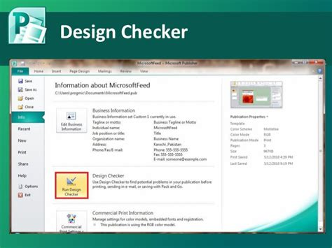 layout guides in publisher 2010 microsoft publisher 2010