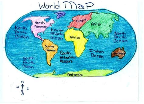 world map rivers oceans lakes geography waltzing through history