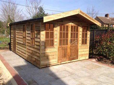 Cladding Sheds by Feather Edge Cladding Heavy Duty Only Mb Garden Building