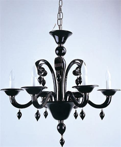 Black Glass Chandelier Black Glass Chandelier 2 Cohabitation With Design