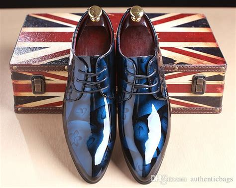 Best S Dress Shoe 2018 by 2018 New Fashion S Wedding Shoes Mens Pointed Design Leather Shoes Unique Casual Shoes