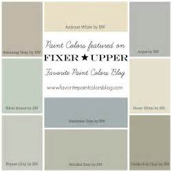 what colors look best on fixer paint colors favorite paint colors