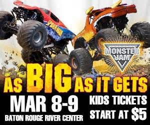 monster truck show baton rouge tiff s deals nola and national savings giveaway family