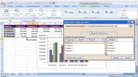 tutorial en excel video tutorial crear y modificar gr 225 ficos en excel