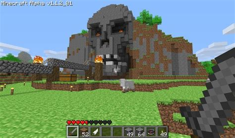 cool mc house designs skull facade 1680 215 988 minecraft exles pinterest house design cool house