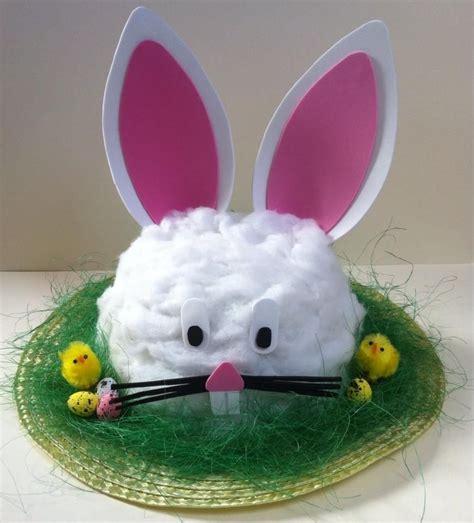 Handmade Easter Bonnet - handmade bunny rabbit easter bonnet hat bonnet hat