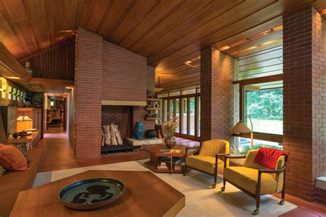 Frank Lloyd Wright Home Interiors An Architectural Work Of New Hshire Home May June 2013 Manchester Real Estate Homes